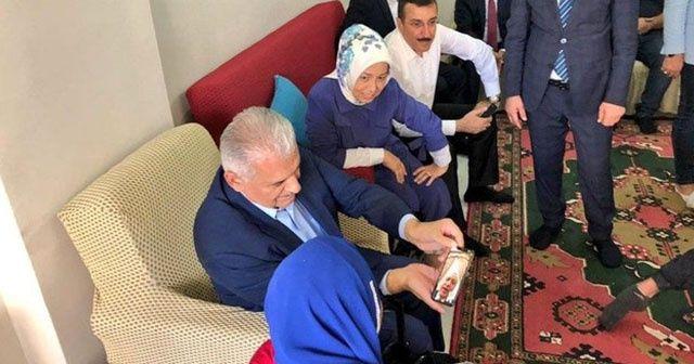 Binali Yıldırım Malatya'da Katı ailesini ziyaret etti