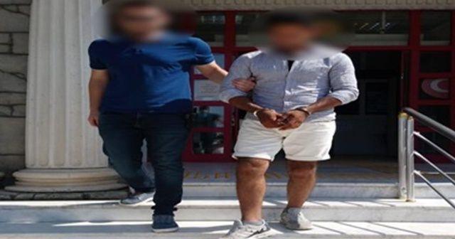 Çalıntı motosikletle uyuşturucu servisi yaparken yakalandı