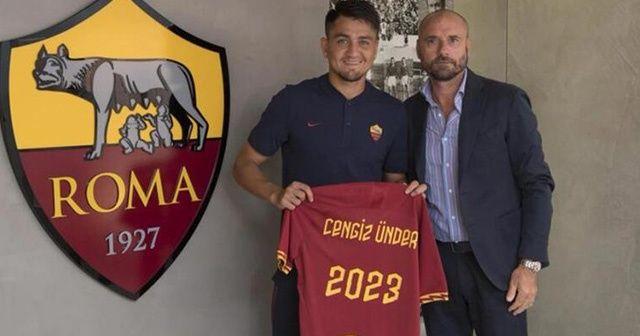 Cengiz Ünder, Roma ile sözleşme uzattı!