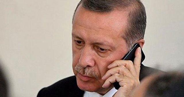 Cumhurbaşkanı Erdoğan Angela Merkel ile telefonda görüştü
