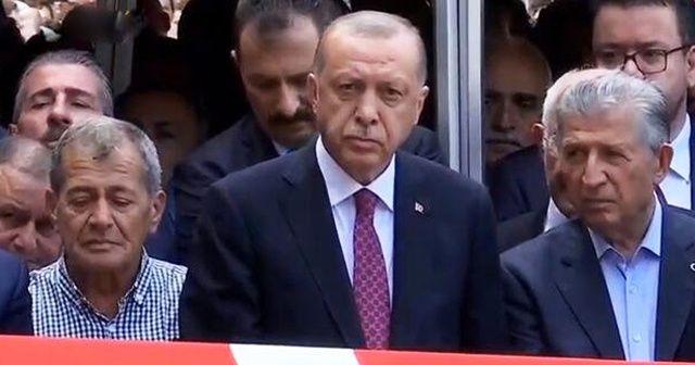 Cumhurbaşkanı Erdoğan'dan Haluk Dursun'un cenazesinde net mesaj
