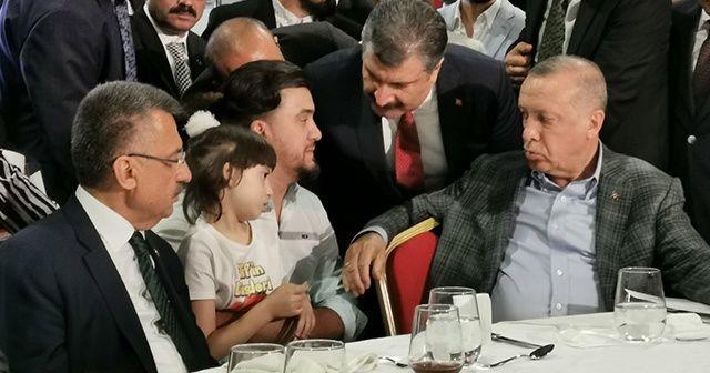 Cumhurbaşkanı Erdoğan'ın ilaç sözü babayı mutluluktan ağlattı