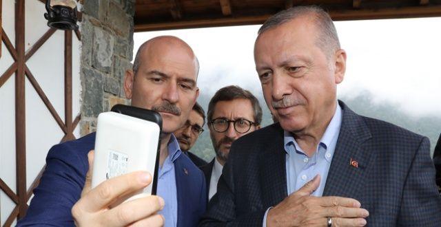 Cumhurbaşkanı Erdoğan, Hacire Anne ile görüştü