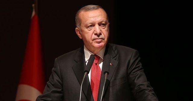 Cumhurbaşkanı Erdoğan: Mazlumlar için kapılarımız da kalbimiz de sonuna kadar açık olmuştur