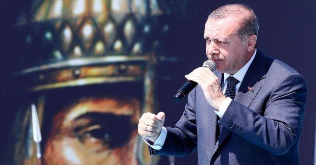 Cumhurbaşkanı Erdoğan: Oyalanmaya kalkılırsak planlarımızı hayata geçiririz
