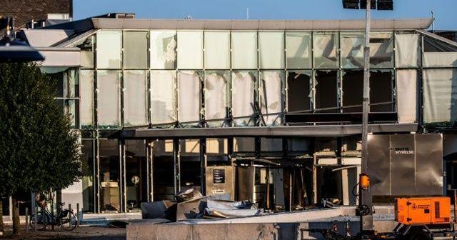 Danimarka'da polis merkezinde patlama