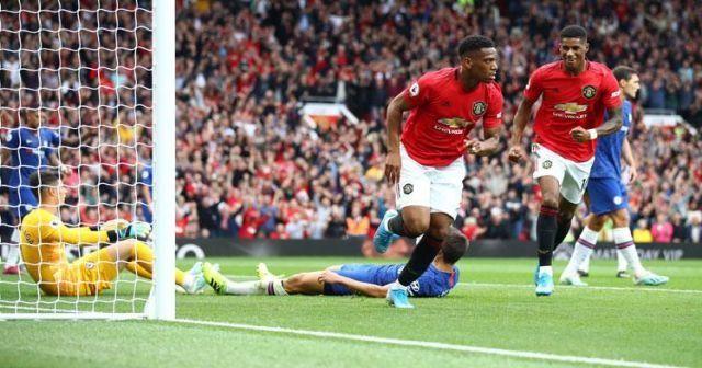 Dev maçta Manchester United farkı! Tam 4 gol