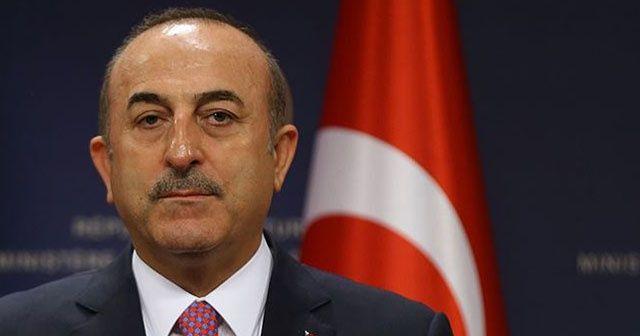 Dışişleri Bakanı Çavuşoğlu'ndan güvenli bölge açıklaması!