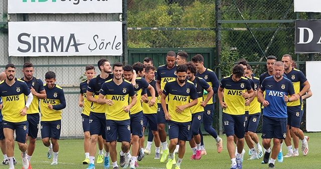 Fenerbahçe'de Başakşehir mesaisi sürüyor