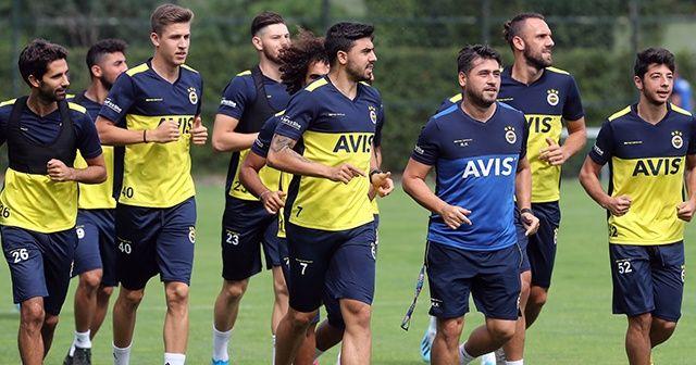 Fenerbahçe, yeni sezon hazırlıklarını sürdürdü