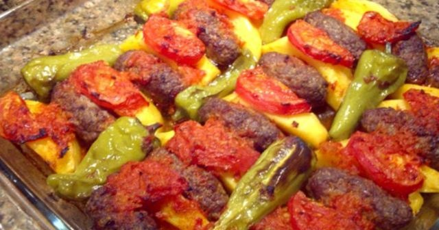 Fırında köfte tarifi, fırında köfte nasıl yapılır?