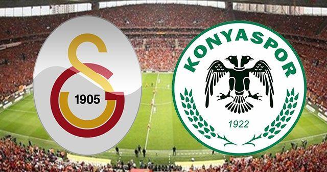 Galatasaray Konyaspor maçı canlı izle! Şifresiz veren kanallar GS Konya maçı kaç kaç?
