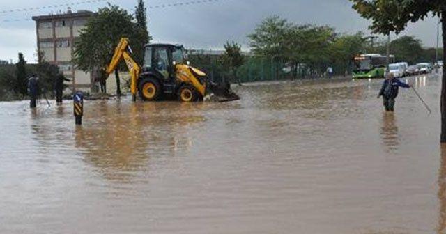 Gebze'de sağanak yağış hazırlığı: Kriz masası kuruldu