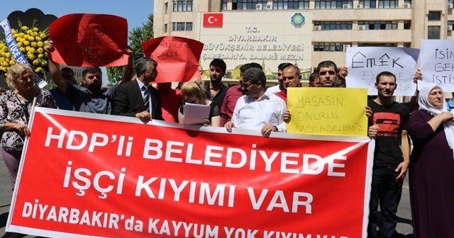 HDP'li belediyeler işçi kıyımına devam ediyor