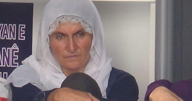 HDP önünde eylem başlatan kadının oğlu bulundu