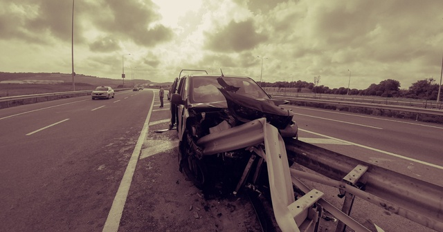 İstanbul Havalimanı yolunda akıl almaz kaza