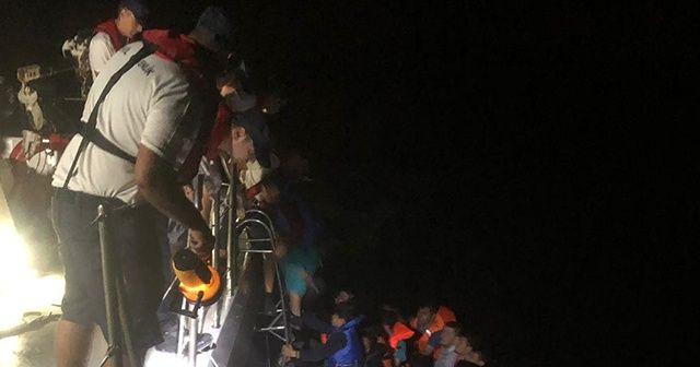 İzmir'de düzensiz göçmen operasyonu