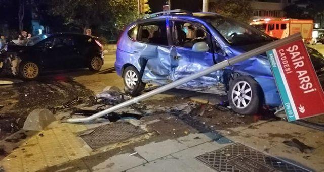 Kadıköy'de korkunç kaza, yaralılar var