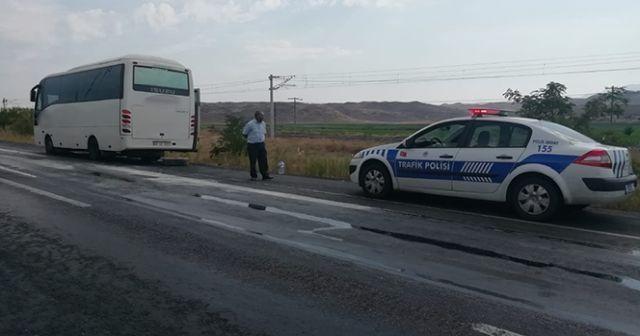 Kahraman şoför yolcuların hayatını kurtardı
