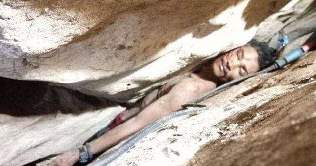 Kamboçya'da mağarada sıkışan kişi 4 gün sonra kurtarıldı