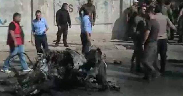 Kamışlı'da patlama! 2 terörist öldü