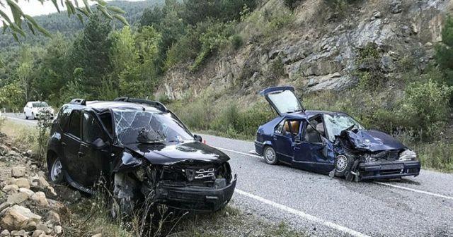 Karabük'te trafik kazası: Çok sayıda yaralı var