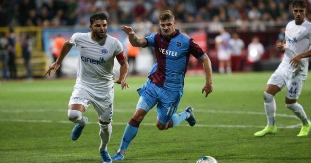 Kasımpaşa ile Trabzonspor 1-1 berabere kaldı