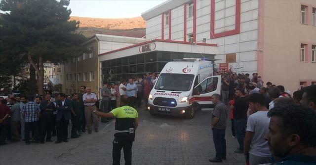 Kayseri'de minibüs ile kamyonet çarpıştı