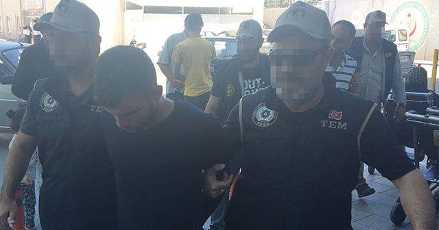 Konya'da bombalı eylem hazırlığındaki teröristler tutuklandı