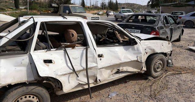 Libya'da bomba yüklü araçla saldırı