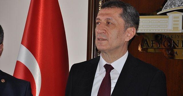 """Milli Eğitim Bakanı Ziya Selçuk: """"Bizim meselemiz öğretmen meselesidir"""""""