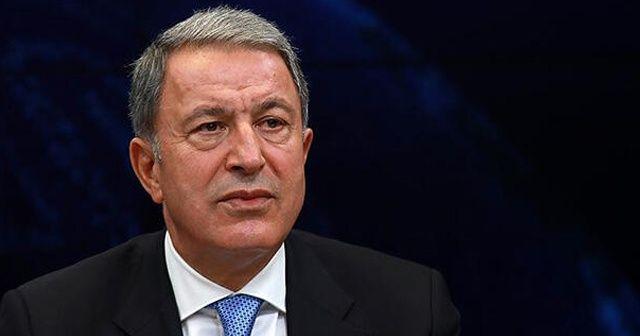 Milli Savunma Bakanı Akar: Doğu Akdeniz'de kimse gücümüzü test etmesin