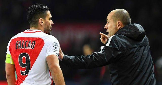 Monaco Teknik Direktörü'nden heyecanlandıran Falcao açıklaması!
