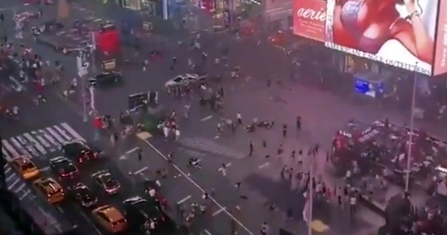 New York'un kalbinde korku dolu anlar