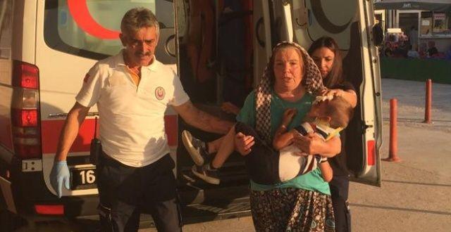 Otomobilin çarptığı Küçük Efe yaralandı