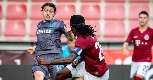 Trabzonspor Prag'dan avantajlı dönüyor