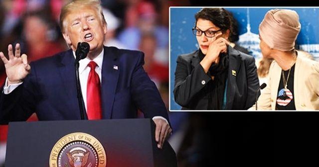 Trump'tan skandal 'Müslüman vekil' kararıyla ilgili açıklama