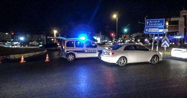 Turizm merkezinin girişleri araç trafiğine kapatıldı