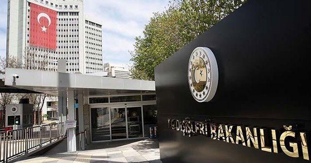 Türkiye'den İsrail'e sert Mescid-i Aksa tepkisi