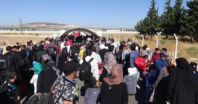 Ülkelerine bayram için giden Suriyelilerin sayısı 35 bini aştı