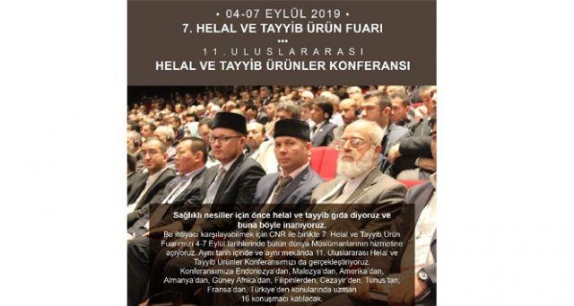 Uluslararası Helal ve Tayyib Konferansı'na sayılı günler kaldı