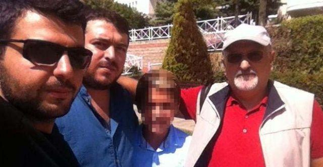 Ümraniye'de dehşeti yaşatan ile dehşeti yaşayan aile üyeleri aynı karede