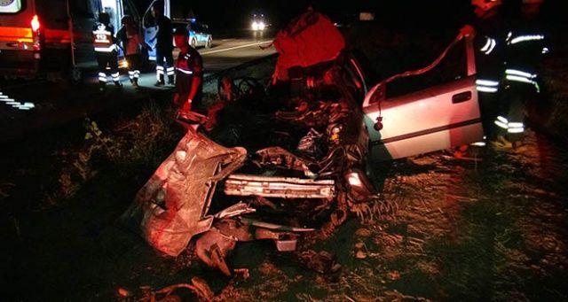 Yozgat!ta trafik kazası, 2 ölü 5 de yaralı var