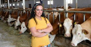 17 yıl sonra döndüğü köyünde süt tesisi kurdu