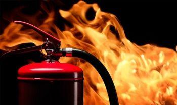 Ankara'da korkutan otel yangını