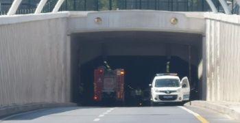 Avrasya Tüneli araç girişine kapatıldı