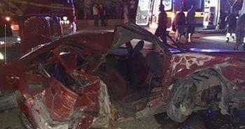 Başkent'te feci trafik kazası