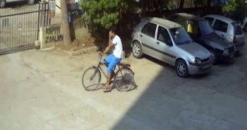 Bisiklet hırsızını dövmeleri ele verdi