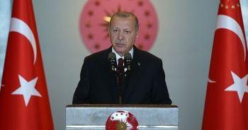 Cumhurbaşkanı Erdoğan: Kimsenin tek karış toprağında gözümüz yok