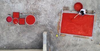 Hasat bitti! Adana'da damlar kırmızıya boyandı